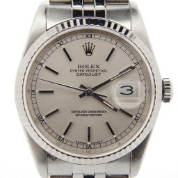 Mens Rolex Stainless Steel Datejust Silver 16234 (SKU R883990NMT)