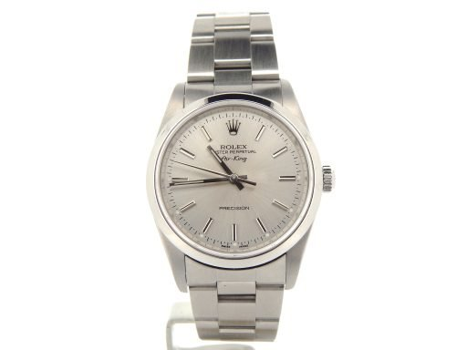 Rolex Stainless Steel Air-King 14000M Silver-8