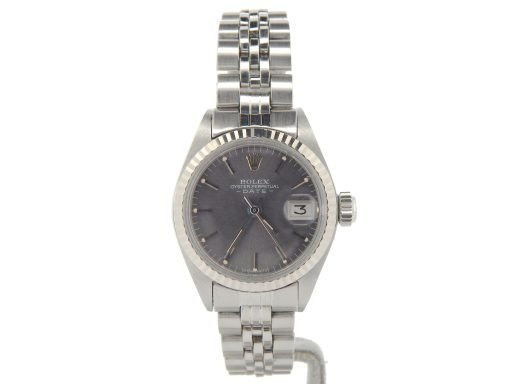 Rolex Stainless Steel Date 6917 Slate -6