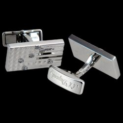 S.T._Dupont_18K_Solid_White_Gold_Cufflinks,_0.18K_Brilliant_Cut_Diamonds_1