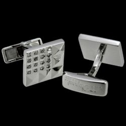 S.T._Dupont_18K_Solid_White_Gold_Cufflinks,_0.48K_Brilliant_Cut_Diamonds_1