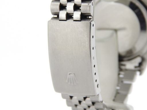 Rolex Stainless Steel Datejust 16220 Black -3