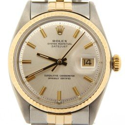 Mens Rolex Two-Tone 14K/SS Datejust Silver  1601 (SKU 2753554NMT)