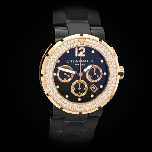 Chaumet_Class_One_18K_Rose_Gold_5_Carats_of_Diamonds_Automatic_Chronograph_Date_1