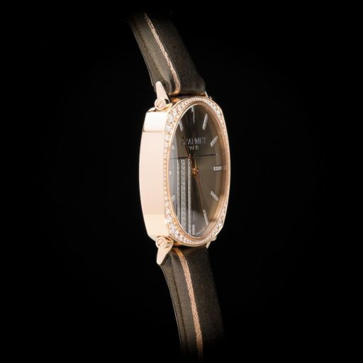 Chaumet_Dandy_Pave_Edition_18K_Rose_Gold_5_Carats_of_Diamonds_Automatic_Date_Grey_Dial_Grey_Strap_3