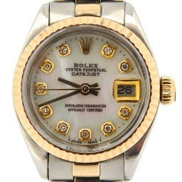 Ladies Rolex Two-Tone 14K/SS Datejust White MOP Diamond 6917 (SKU 7175995NMT)