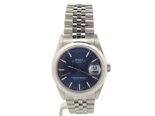 Rolex Stainless Steel Date 15200 Blue -8