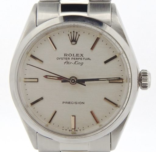 Rolex Stainless Steel Air-King 5500 Silver-1