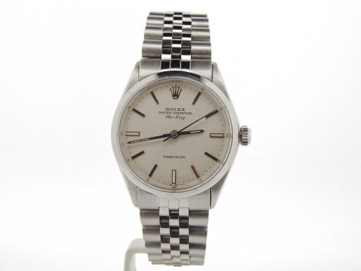 Rolex Stainless Steel Air-King 5500 Silver-7
