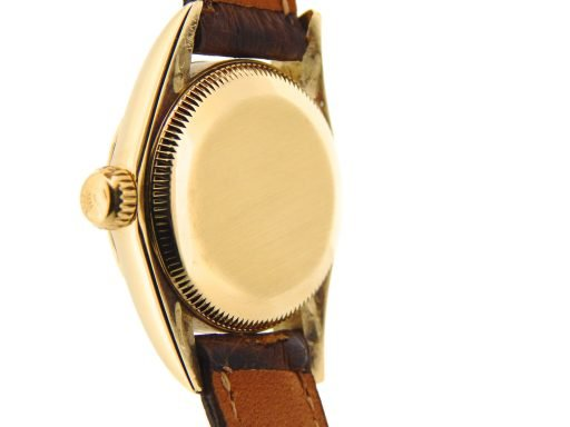 Rolex 14K Yellow Gold Oyster Perpetual 67197 Champagne -2