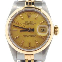 Ladies Rolex Two-Tone 18K/SS Datejust Champagne  69163 (SKU 9682136NMT)