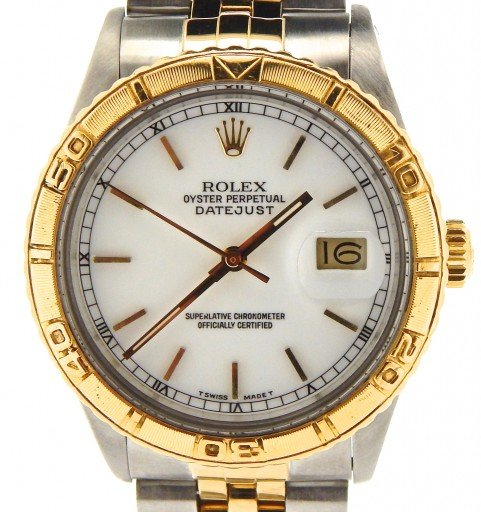 Rolex Two-Tone Datejust Turn-O-Graph 16253-1