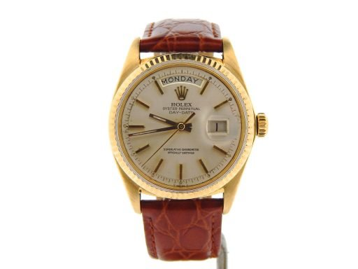 Rolex 18K Yellow Gold Day-Date President 1803 Silver -7