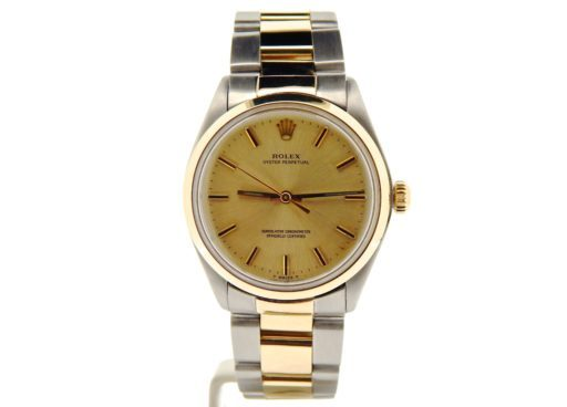 Rolex Two-Tone Oyster Perpetual 1002 Champagne -7