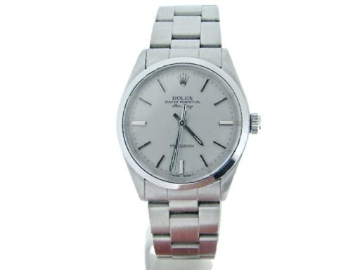 Rolex Stainless Steel Air-King 5500 Silver-5