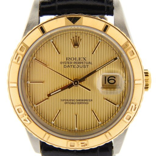 Rolex Two-Tone Datejust 16263 Turn-O-Graph -1