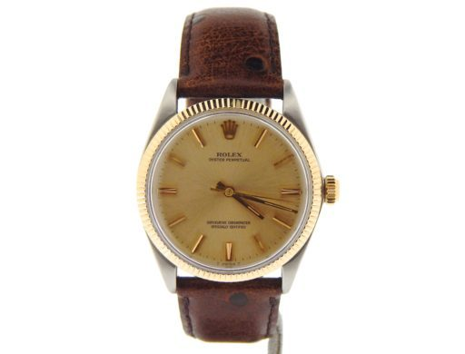 Rolex Two-Tone Oyster Perpetual 1005 Champagne -7