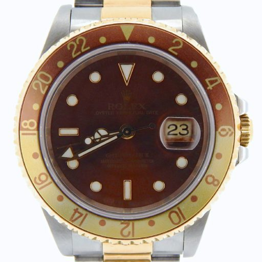 Rolex Two-Tone GMT Master II 16713 Brown -1