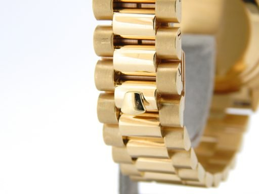 Rolex 18K Yellow Gold Day-Date President 1803 Black Diamond-6