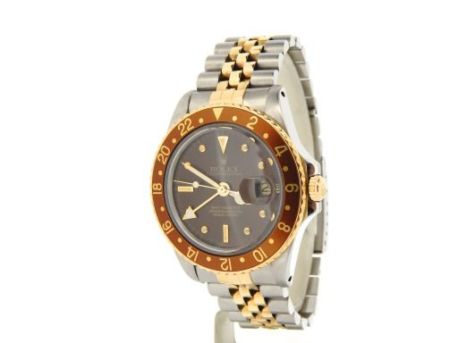 Rolex Two-Tone GMT-Master 16753 Brown -7