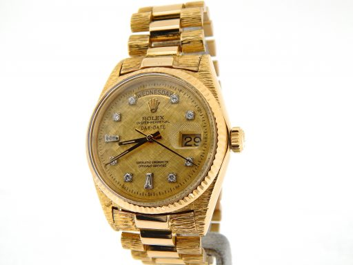 Rolex  Yellow Gold Day-Date President 1803 Champagne Diamond-6
