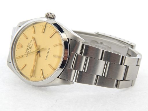 Rolex Stainless Steel Air-King 5500 Champagne-7