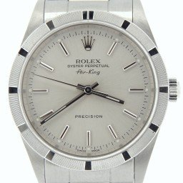 Mens Rolex Stainless Steel Air-King Silver  14010