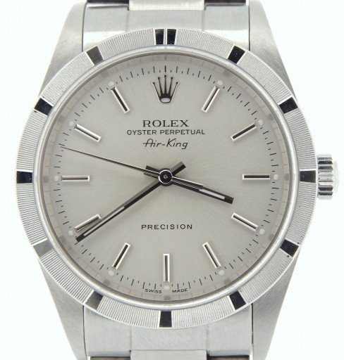 Rolex Stainless Steel Air-King 14010 Silver -1