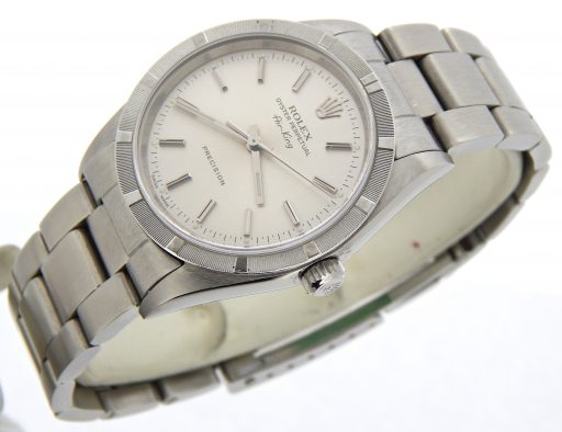 Rolex Stainless Steel Air-King 14010 Silver -6