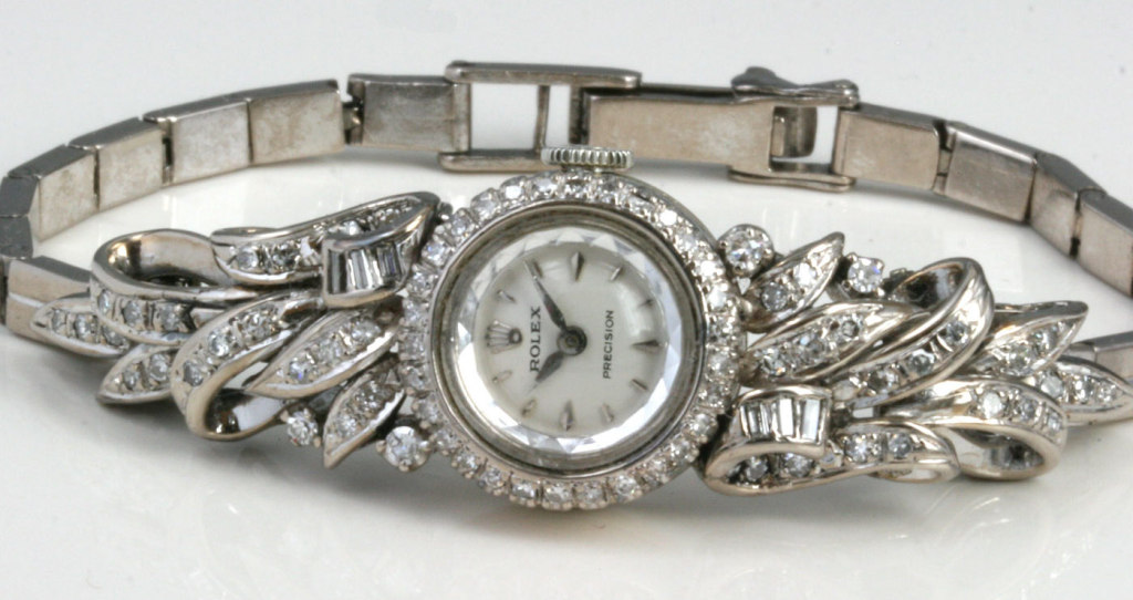 Ladies Diamond Rolex