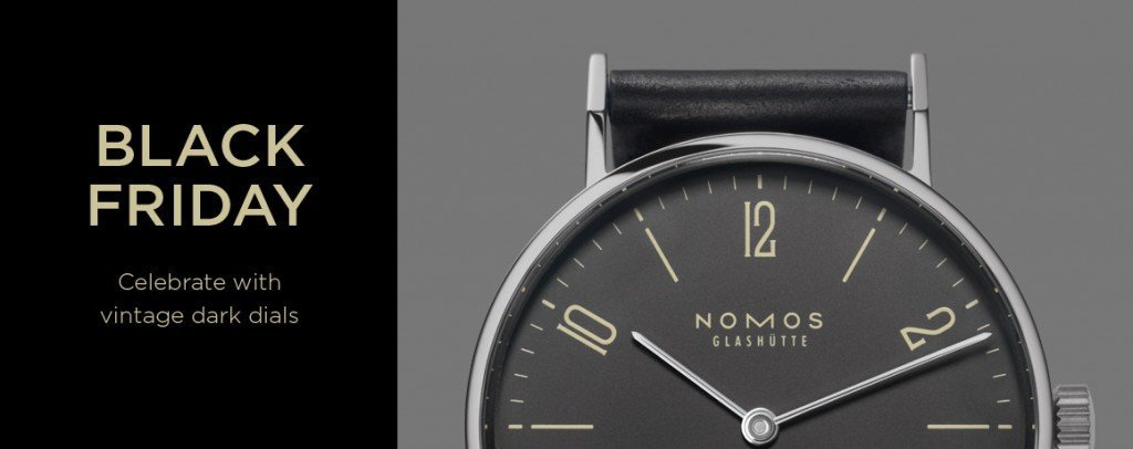 Post image for Black Friday with NOMOS