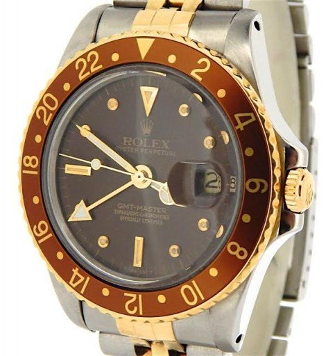 Rolex Two-Tone GMT-Master 16753 Brown -1