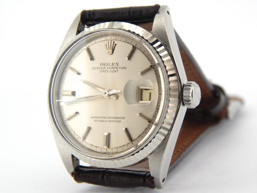 Rolex Stainless Steel Datejust 1601 Silver -6