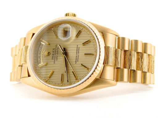 Rolex 18K Yellow Gold Day-Date President 18238 Champagne -7