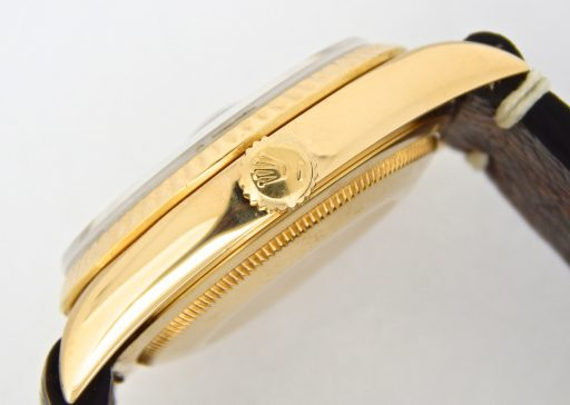 Rolex 18K Yellow Gold Day-Date President 18238 Champagne -4