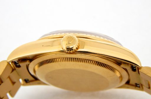 Rolex 18K Yellow Gold Day-Date President 18238 Black -5