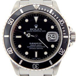 Mens Rolex Stainless Steel Submariner Black  16610 (SKU K994109NNBCMT)