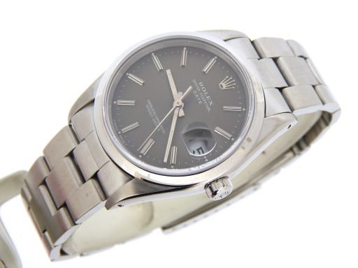 Rolex Stainless Steel Date 15200 Gray, Slate -8