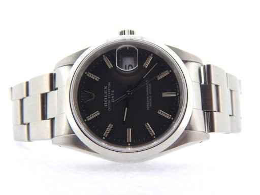 Rolex Stainless Steel Date 15200 Gray, Slate -7