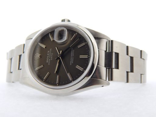 Rolex Stainless Steel Date 15200 Gray, Slate -6