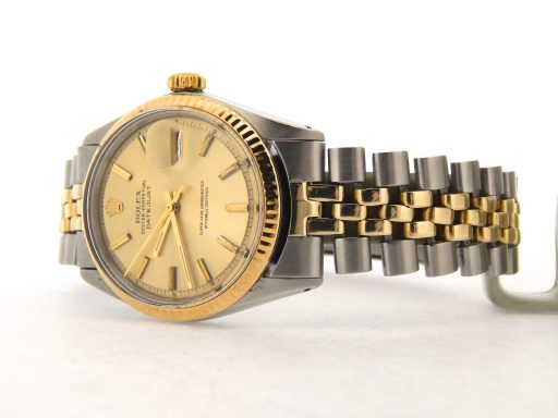 Rolex Two-Tone Datejust 1601 Champagne -7