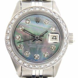 Ladies Rolex Stainless Steel Datejust Tahitian MOP Diamond (SKU 2964310NNMT)
