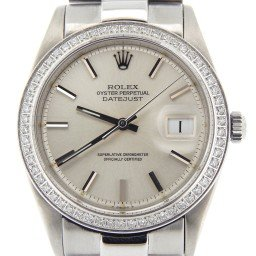 Mens Rolex Stainless Steel Datejust Silver  Diamond 1603 (SKU 1880778MPRZMT)