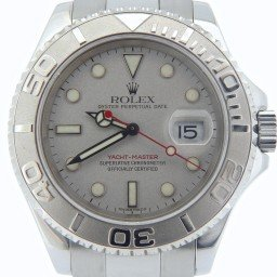 Mens Rolex Stainless Steel & Platinum Yacht-Master  16622 (SKU P418976NMT)