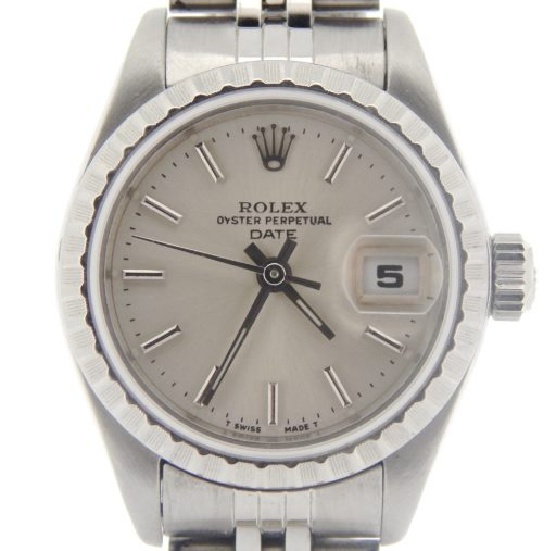 Rolex Stainless Steel Date 69240 Silver -1