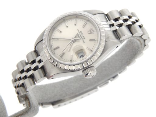 Rolex Stainless Steel Date 69240 Silver -6