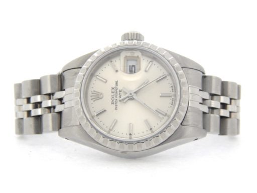 Rolex Stainless Steel Date 69240 Silver -5