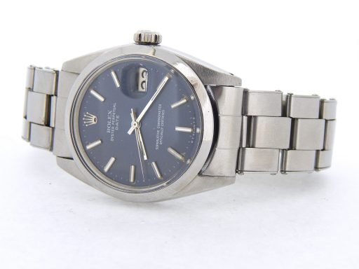 Rolex Stainless Steel Date 1500 Blue -9