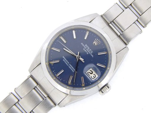 Rolex Stainless Steel Date 1500 Blue -7