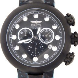 Invicta Men's 3340 Lupitas Chronograph Black Steel Watch